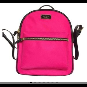 Stunning Kate spade backpack! Hot pink $249